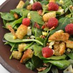 Spinach _Salad _with Rasberry