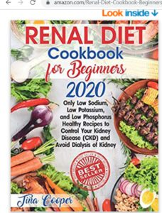 Renal Diet Cookbook for Beginners
